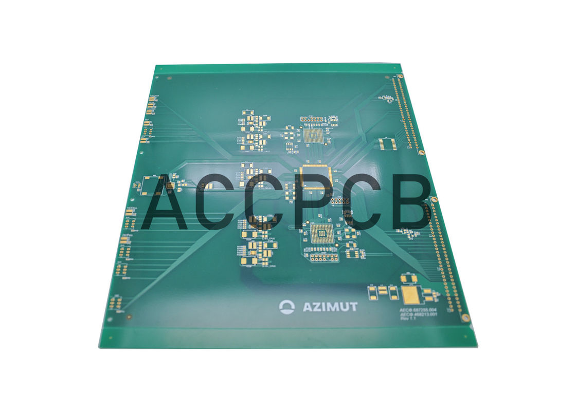HDI PCB Board Multilayer Circuit Board  RoHS 94v0 ISO9001 Standards