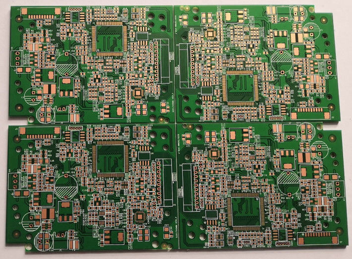 High Frequency Multilayer PCB Board Engineering Pretreatment Lead Free High Precision