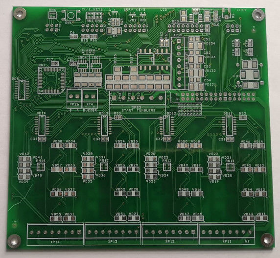 ENIG Custom Pcb Assembly Multilayer PCB Board  1 Oz Copper Lead Free Pcb