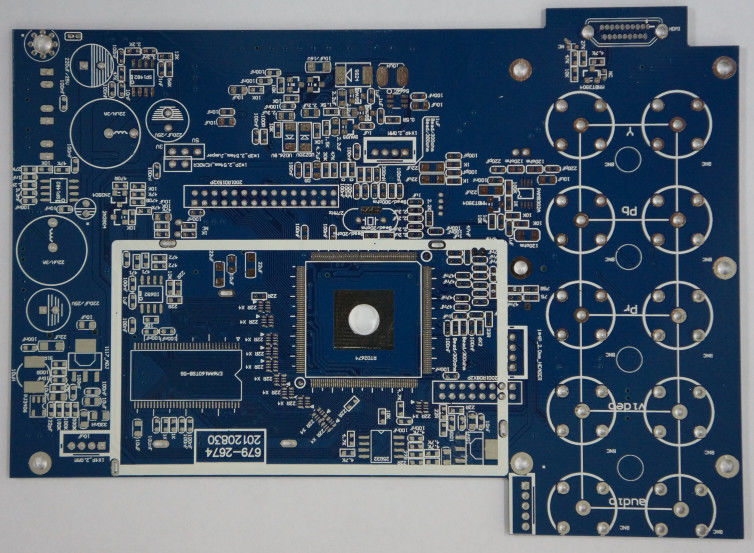 2 Layers High Frequency PCB , Electronic Board Assembly Lead Free HAL Professional manufacurer