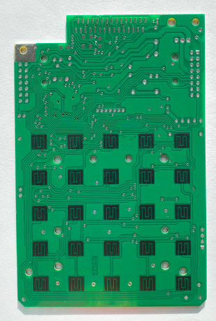 KB FR4 Prototype PCB Fabrication Carbon Ink Lead Free HAL Surface Finishing